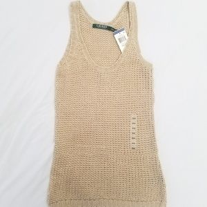 Lauren Ralph Lauren Knitted Tank Top